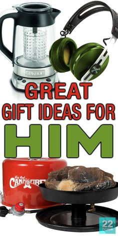 While your husband, dad, or other man in your life might act thrilled when he opens yet another tie, he's really hoping for something in this amazing gift guide. It includes goodies at all price points, perfect for every type of guy from the tech savvy to a weekend chef to Mr. Fix-It and more! Whether it's for Father's Day, Christmas, his birthday or some other occasion that calls for the perfect gift, you'll find it here.