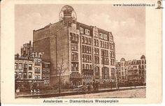 Diamantbeurs, Weesperplein