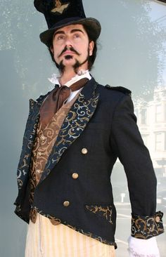 Steampunk mens jacket