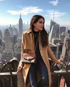 Shop the Look from Brittany Xavier on ShopStyleThis view never gets old 🙌🏻 HANNAH READ mode New York Outfits, New York Trip, New York Travel, Travel City, New York Pictures, New York Photos, New York Photography, Photography Poses, Travel Photography