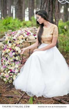 Forest Wedding Inspiration: A feature of our styled shoot on The Pretty Blog