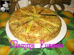 torta di patate, asparagi, zucchine e fave