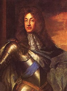 King James II of England and James VII of Scotland, the last Catholic and absolutist-inclined British monarch--who just happens to be much on my mind because in virtually all of the moments when I'm not on Pinterest I'm working on a presentation about him for a British history class.