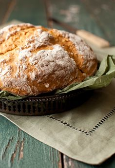Recipe: Irish soda bread  (contains yogurt and oatmeal)