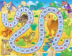 Bordspel · afbeelding · vogel · dieren · slang · tropische - vector illustratie © Klara Viskova (clairev) (#5113695) | Stockfresh