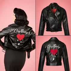 For all who waited for Kim Cry Baby Jacket.... Its for sale now. Just follow these link: ..... http://ift.tt/2AB0LGt ..... #depp #johnnydepp #crybaby #rocknroll #rockabilly #rockabella #vintage #retro #rockabillystyle #retrofashion #rockabillylove #rockabillyhair #vintagehair