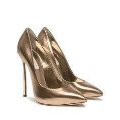 Blade - Tan Pumps in Nappa Bootie Boots, Shoe Boots, Shoes Heels, Cute Shoes, Me Too Shoes, Pretty Shoes, Stiletto Heels, High Heels, Tan Pumps