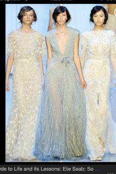 Elie Saab gorgeous dresses.