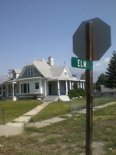 A supposedly haunted house in Idaho that (due to haunting, I suppose) sold for only $40,000. Notice the name of the street.
