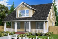 House Plan 4848-00017 - Narrow Lot Plan: 1,871 Square Feet, 4 Bedrooms, 3.5 Bathrooms