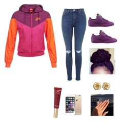 """""""Untitled #7"""" by babykvsh ❤ liked on Polyvore featuring NIKE, Puma and Too Faced Cosmetics"""