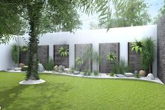 modern Garden by Residenza by Diego Bibbiani Backyard Garden Design, Garden Landscape Design, Balcony Garden, Back Gardens, Outdoor Gardens, Casa Patio, Front Yard Landscaping, Villa, Beautiful