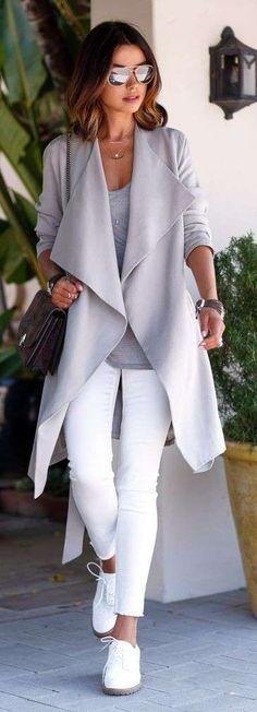 Pantaloni bianchi invernali (Foto 32/42) | Stylosophy