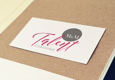 #logo #design M&M Talent Coaching