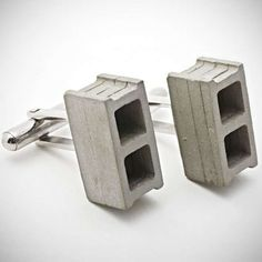 Concrete Jewelry Pieces  - While some people prefer feminine and flirty jewelry pieces, others might look for a more sturdy and practical option, and these concrete jewelry p...