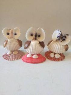 Resultado de imagem para shell crafts