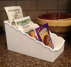 Vintage Tupperware Seasoning Packet Organizer by VintagePickin