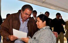 Estuve presente en la entrega de escrituras en la zona Sudeste de Salta