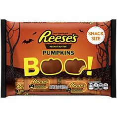 REESE'S #Halloween #Snack #Size #Peanut #Butter #Pumpkins, 10.2 #Ounce Perfect for trick-or-treaters and #Halloween candy bowls Your favorite combination of #peanut #butter and chocolate, festively shaped like pumpkins  Halloween-themed wrappers  https://technology.boutiquecloset.com/product/reeses-halloween-snack-size-peanut-butter-pumpkins-10-2-ounce/
