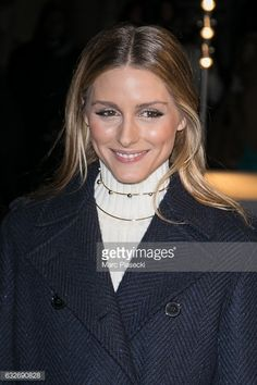 Olivia Palermo attends the Valentino Haute Couture Spring Summer 2017 show as part of Paris Fashion Week on January 25 2017 in Paris France