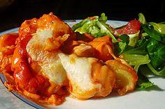 Gnocchi aus dem Ofen in Paprika-Tomaten-Sauce 3