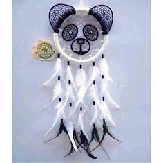 A panda dream catcher discovered by sheenamay Dream Catcher Decor, Dream Catcher Mobile, Panda's Dream, Beautiful Dream, Fun Crafts, Diy And Crafts, Panda Craft, Dream Catcher Tutorial, Diy Tumblr