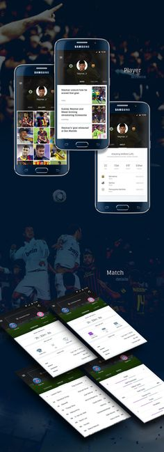 Goal - Mobile App UI Pack on Behance