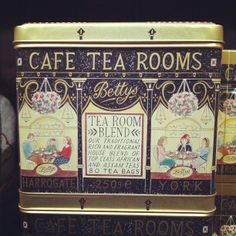 Loving new Betty's packing by local York artist Emily Sutton (thanks to @shelfappeal for tip off) | Flickr - Photo Sharing!
