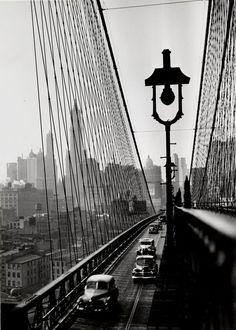 Brooklyn Bridge, 1946 Photo by Esther Bubley