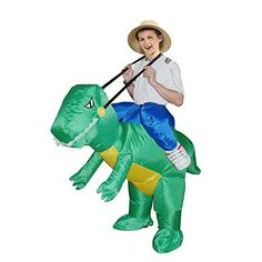 Inflatable Dinosaur Costume - Fan Operated Kids Size Halloween Costume By Arber *** See this great product.