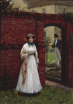 the-time-and-the-place-E-Blair-Leighton