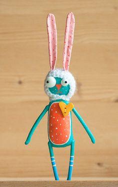 Sunny hare от MarLitoys на Etsy