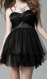 a rather goth chiffon dress will go really well with biker boots