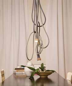 The Matt rope lamp.