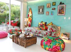 Using brasilian fabric and with creativity