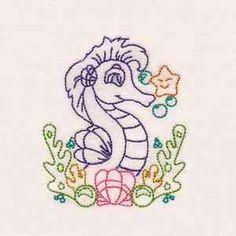 Seahorse Freebie