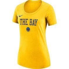 df2c5f7d1c8 Nike Women's Golden State Warriors Dri-FIT City Edition Logo T-Shirt