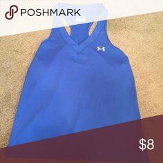 Under Armour tank Size xl  Like new  Heat gear Under Armour Tops Tank Tops