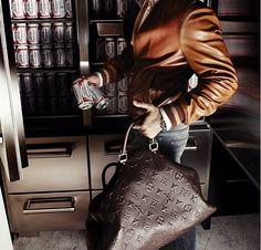Louis Vuitton... One to-go.