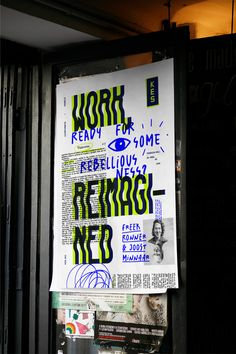 KES - Corporate Rebels on Behance - graphic design - Typography Graphisches Design, Creative Design, Print Design, Design Layouts, Cover Design, Typography Layout, Typography Poster, Lettering, Graphic Design Posters