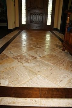 Creative Decoration Tile Entryway With Wood Floor Hardwood Floors More Inc Traditional Entry Atlanta By Entryway Tile Floor, Entry Tile, Entryway Flooring, Living Room Flooring, Kitchen Flooring, Hardwood Floor Colors, Wood Tile Floors, Hardwood Floors, Rustic Floors