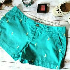 Selling this Seahorse Summer Shorts in my Poshmark closet! My username is: kimvanhorn. #shopmycloset #poshmark #fashion #shopping #style #forsale #Old Navy #Pants