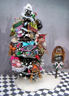 Dollhouse miniature harry potter hogsmeade village business advertisement christmas tree layaway available Harry Potter Christmas Decorations, Harry Potter Christmas Tree, Hogwarts Christmas, Merry Christmas, Mini Christmas Tree, Xmas, Christmas Time, Christmas Ideas, Harry Potter Fan Art