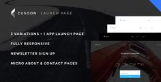 Download Free              C U Soon - Launch Page, Coundown Page, Under Construction Page  - Responsive HTML Theme            #               animation #App Page #background slider #clean design #coming soon page #contact page #countdown page #edge #launch page #minimal #mobile app page launch #responsive #under construction html theme #under construction page