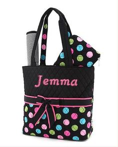 Large quilted multicolor polka dot pattern by GrannySmithApparel, $32.95