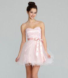 fee459ca2b6d Available at Dillards.com #Dillards #fashion #cute #dress Lace Party Dresses