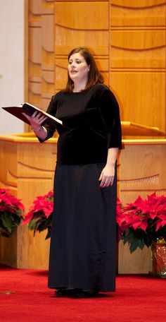 Liz Couchman, First Soprano, Soloist