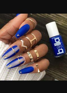 Pin By Mayette On Nails Nail Designs Royal Blue Ghetto Coffin . Pin By Mayette On Nails Nail Designs Royal Blue Ghetto Coffin coffin nails royal blue - Coffin Nails Pin By Mayette On Nails Nail Designs Royal Blue Ghetto Coffin . Blue Nail Designs, Pretty Nail Designs, Nail Designs Spring, Acrylic Nail Designs, Blue Nails With Design, Blue Coffin Nails, White Acrylic Nails, Pretty Nail Colors, Pretty Nails