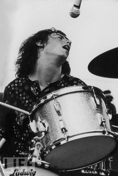 Michael Shrieve from Santana....I thought he was one of highlights of Woodstock.  That drum solo!