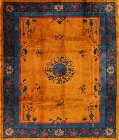 View this beautiful antique Art Deco Chinese rug from Nazmiyal's fine antique rugs and decorative carpet collection. Yellow Carpet, Yellow Rug, Room Size Rugs, Art Deco Rugs, Carpets Online, Drawing, Floor Rugs, Vintage Rugs, Rugs On Carpet